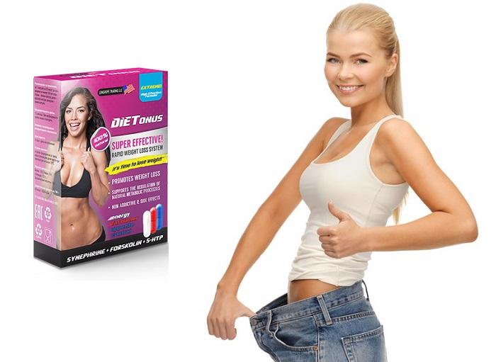 Dietonus a fogyás: kapszula 2 héten belül feloldja akár 10 kg zsírt!