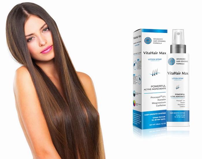 VitaHairMax hajnövesztéshez: gyönyörű haj stylist és stílus nélkül!