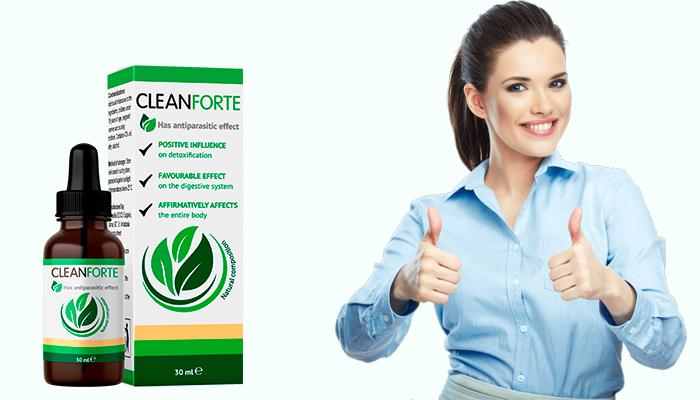 Clean Forte: mindössze egyetlen kúrával kihajtja a parazitákat és védelmet nyújt az újbóli fertőzés ellen!