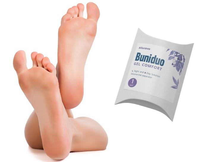 Buniduo Gel Comfort valgus ellen: egészséges láb műtét nélkül!