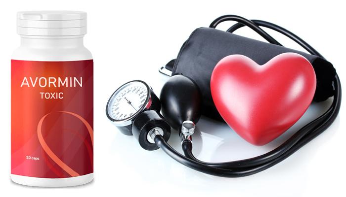AVORMIN Toxic magas vérnyomás ellen: egy teljes kezelés után a vérnyomása stabilizálódik hosszú időtartamra