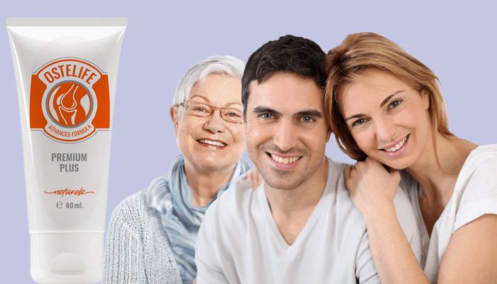Ostelife Premium ízületekhez: hatékony termék az osteochondrosis, az artrózis és a traumák ellen