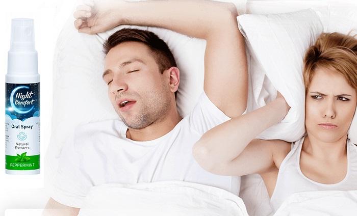 NIGHT COMFORT a horkolástól: egy nyomás, és vége a horkolásnak!
