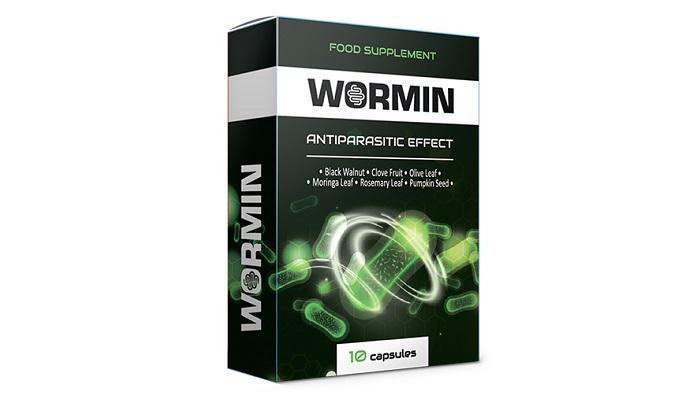 WORMIN parazitákból: megszabadítja a testet az összes élősködők fajtájától!