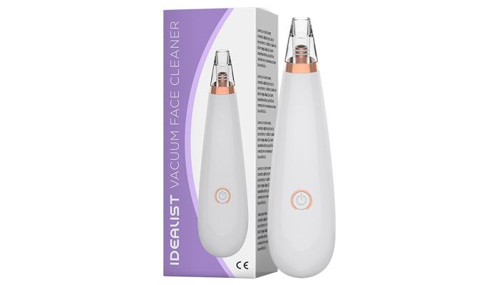 Idealist Vacuum Cleaner: mitesszer és pórustisztító készülék
