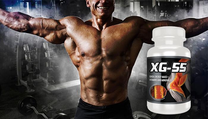 XG-55: egy természetes termék a gyors izomnöveléshez!