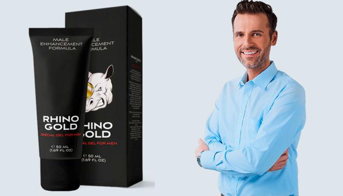 Rhino Gold Gel a pénisz megnagyobbodásához: figyelemre méltó méret