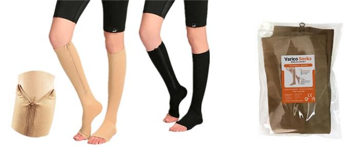 VaricoSocks a visszér: ez enyhíti a fájdalmat, nehéznek a lábak!