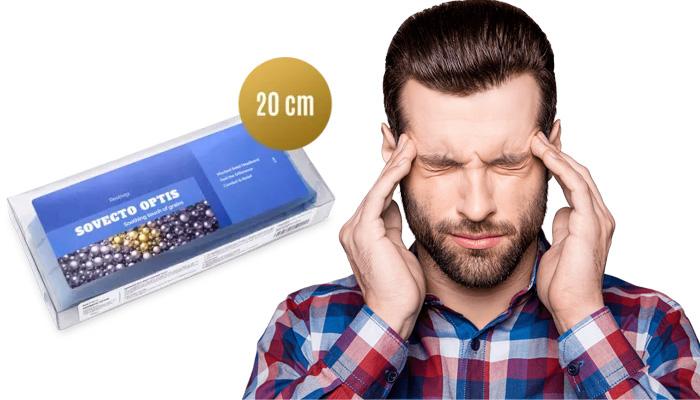 Sovecto Optis fejfájás ellen: pontosan ennyire van szükség ahhoz, hogy búcsút vegyél a fejfájástól